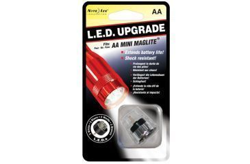 Nite Ize 3 LED Upgrade Kit for AA Mini Maglite Flashlights White