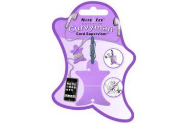 Nite Ize Curvyman Cord Organizer - Purple CVM-03-23