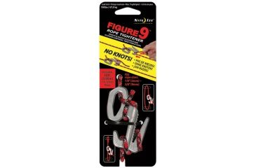Nite Ize F9L-03-09 Figure 9 Rope Tightener/Tensioning Tool - Large - Single Pack w/ Rope