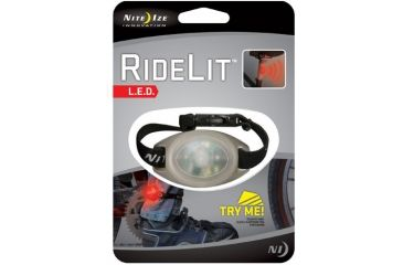 Nite Ize RideLit LED Ankle Bicycle Light - Red RLT 07 10