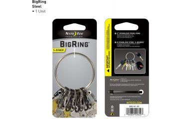 Nite Ize S-Biner BigRing Steel BRG-M1-R3