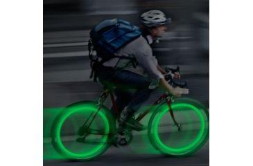 Nite Ize See Em Led Green 2pk in Use