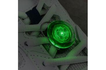 Nite Ize ShoeLit LED,Green NST-M4-R3