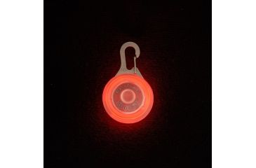 Nite Ize SpotLit Carabiner LED Light, Standard Packaging, Pink Plastic/White LED SLG12-03-02
