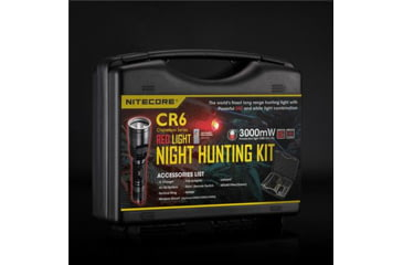 Nitecore Chameleon Series LED Flashlight, Red NCCR6