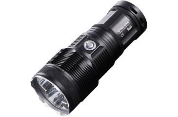 Nitecore TM15 Tiny Monster 2450 Lumen Rechargeable LED Flashlight - Triple CREE XM-L U2 LED, Black NITECORE-TM15