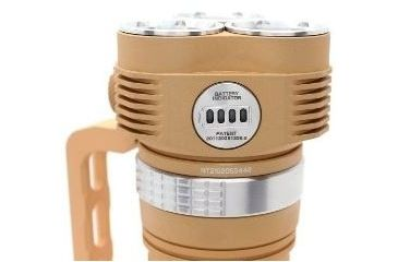 Niteye EYE30 Desert LED Flashlight Kit - 2000 Lumens - 3x CREE XM-L U2 LED - Runs on 4x 18650 batteries (Batteries not Included), Desert NITEYE-EYE30-XML2-DESERT