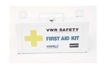 North Safety Products/Haus 25-Person First Aid Cabinet 011111-4079 First Aid Kit With Contents
