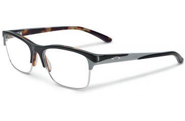 Oakley Allegation Eyeglasses, Black Tortoise, 53.7 mm OX1090-0152