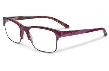 Oakley Allegation Eyeglasses, Pink Tortoise, 53.7 mm OX1090-0352