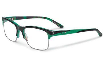Oakley Allegation Eyeglasses, Green Tortoise, 53.7 mm OX1090-0552