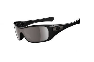 Oakley Antix Polarized Black Frame w/ Warm Grey Lenses Men's Sunglasses 03-700