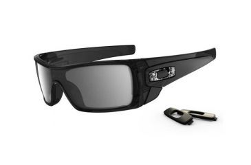 fb54466c6e5 Oakley Batwolf Black Ink Frame w  Black Iridium Lenses Men s Sunglasses  OO9101-01