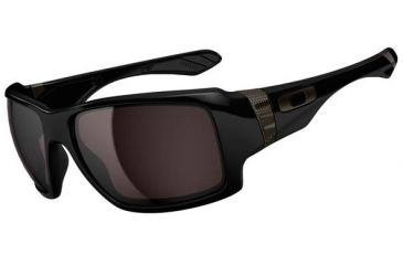 Oakley Big Taco Sunglasses, Polished Black OO9173-01-RX