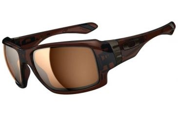 Oakley Big Taco Sunglasses, Polished Rootbeer OO9173-03-RX