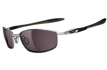 Oakley Blender Progressive Prescription Sunglasses - Lead/Grey Smoke Frame OO4059-01