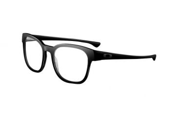 Oakley Cloverleaf 55mm Polished Black Men's Bifocal Progressive Prescription Glasses  OX1078-0155