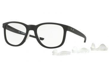 a358897485 Oakley CLOVERLEAF MNP OX8102 Eyeglass Frames 810201-52 - Satin Black Frame