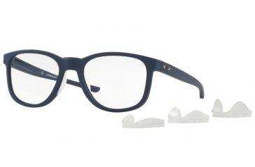 e20d6f50f8 Oakley CLOVERLEAF MNP OX8102 Single Vision Prescription Eyeglasses 810203-52  - Satin Universe Blue Frame