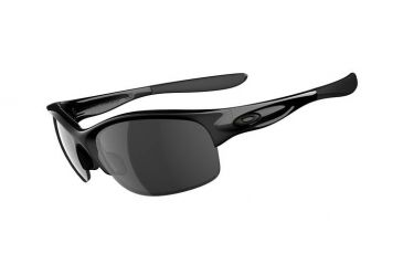 Oakley Commit SQ Sunglasses, Polished Black Frame, Black Irid Lens 03-781