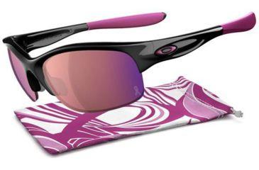 Oakley Commit SQ Sunglasses - Breast Cancer Polished Black Frame and G30 Iridium Lens 24-330