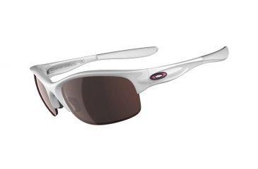Oakley Commit SQ Sunglasses, Polished White Frame, G30 Black Irid Lens 03-784