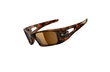 5c29eb70855 Oakley Crankcase Brown Tortoise Frame w  Dark Bronze Lenses Men s Sunglasses  OO9165-02