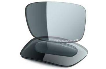 Oakley Crankcase Replacement Lenses, Grey Polarized 43-520