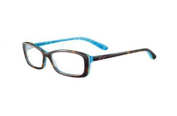 Oakley Cross Court Eyeglasses Frame, Size 53 - Tort Letterpress OX1071-0353