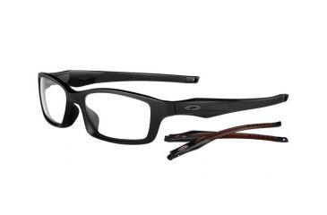 Oakley Crosslink 53mm Satin Black /Black Men's Rx Eyeglasses OX8027-0553