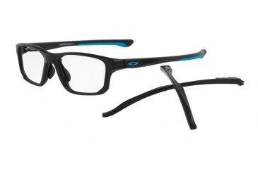 75d3789f04e70 ... sale oakley crosslink fit a ox8142 progressive prescription eyeglasses  814201 56 satin black frame e5efa 7ac9a