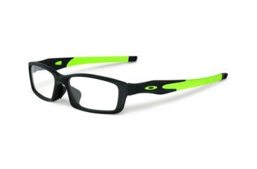 9fdd444c07f Oakley CROSSLINK PRO A OX3149 Progressive Prescription Eyeglasses 314901-56  - Satin Black Frame