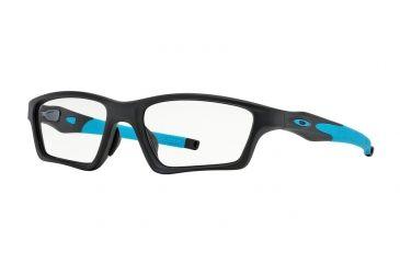 b396c2f2a1 Oakley CROSSLINK SWEEP ASIAN OX8033 Progressive Prescription Eyeglasses  803301-55 - Satin Black Sky