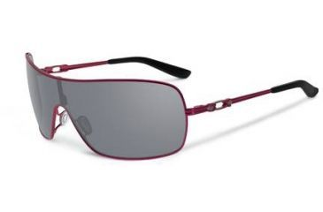 Oakley Distress Sunglasses, Grey Lens, Cayenne Red Frame OO4073-04