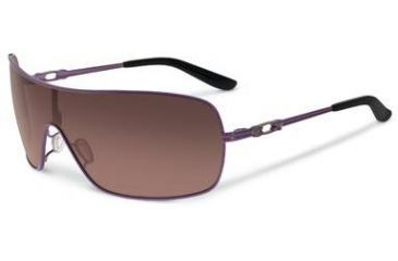 Oakley Distress Sunglasses, G40 Black Gradient Lens, Purple Orchid Frame OO4073-06