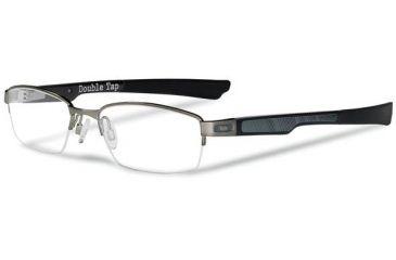 Oakley Double Tap Eyeglasses - Brushed Chrome Frame OX3123-0451