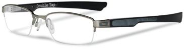 Oakley Double Tap Eyeglasses - Brushed Chrome Frame OX3123-0453
