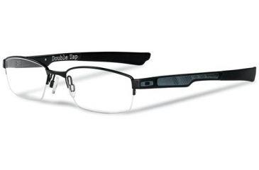 Oakley Double Tap Eyeglasses - Satin Black Frame OX3123-0153