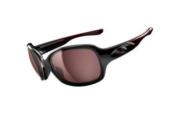 Oakley Drizzle Single Vision Prescription Sunglasses - PolishedBlack/RoseMetall Frame OO9159-06