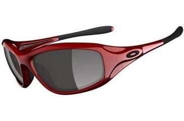 86404fdaf12a6 Oakley Encounter Metallic Red Frame w  Grey Lenses Sunglasses OO9091-04
