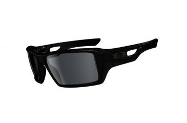 Oakley Eyepatch 2 Polished Black Frame w/ Grey Lenses Men's Sunglasses OO9136-13
