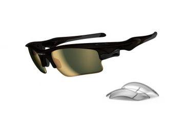 Oakley Fast Jacket Asian Fit XL Brown Sugar Frame w/ VR50 Gold Iridium  Lenses Sunglasses