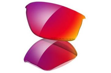 Oakley Flak Jacket Replacement Lenses, OO Red Polarized 43-334