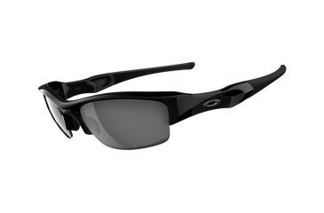 6c827b793c Oakley Flak Jacket Sunglasses - Jet Black w  Black Iridium Polarized 12-900
