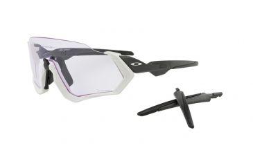3c64b546c0c04 Oakley FLIGHT JACKET OO9401 Sunglasses 940103-37 - Matte Grey Frame