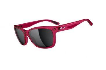 Oakley Forehand Sunglasses, Neon Pink Frame, Black Iridium Lens OO9179-15