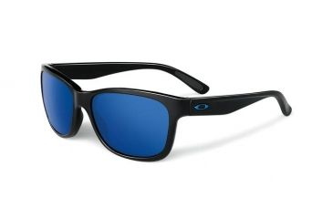 Oakley Forehand Sunglasses, Polished Black Frame, Ice Iridium Lens OO9179-29