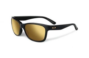 a205ebc97cb238 Oakley Forehand Sunglasses, Polished Black Frame, 24K Iridium Lens OO9179-30