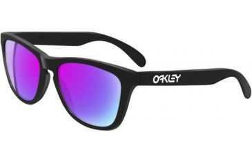 24fad39f1a Oakley Frogskins Progressive Prescription Sunglasses - Matte Black Frame  24-298