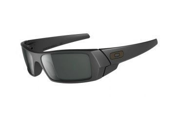Oakley GasCan Single Vision Prescription Sunglasses - Matte Black Frame 03-473